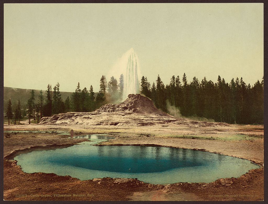 Yellowstone Paint Pot 1898 LOC